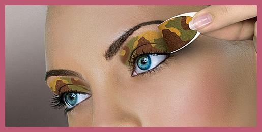 SOMBRAS de ojos con pegatinas