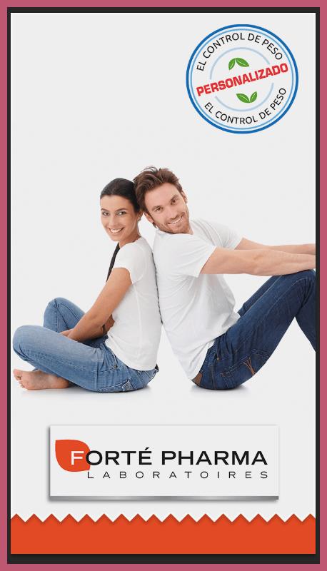 App de Laboratorios Forté Pharma: control de peso 1