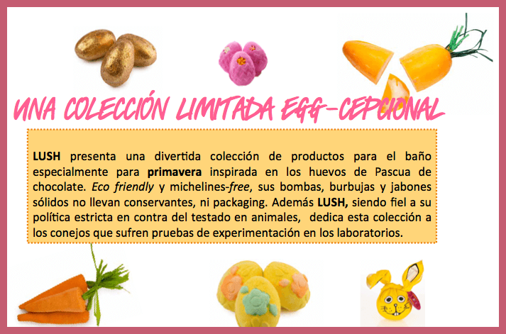 LUSH; cosméticos edición limitada