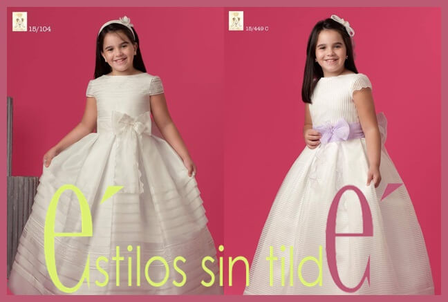 Vestidos de comunión Primavera 2014 1