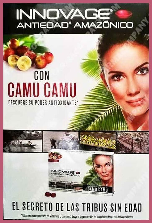 Camu Camu, el mejor ANTIEDAD 1