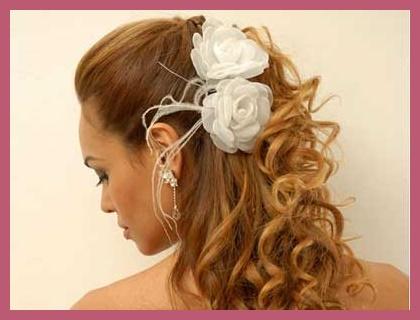 La elección del peinado de novia