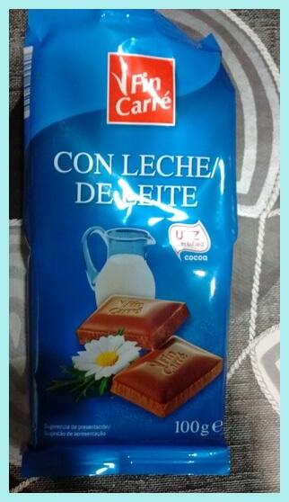 chocolate con leche del Lidl