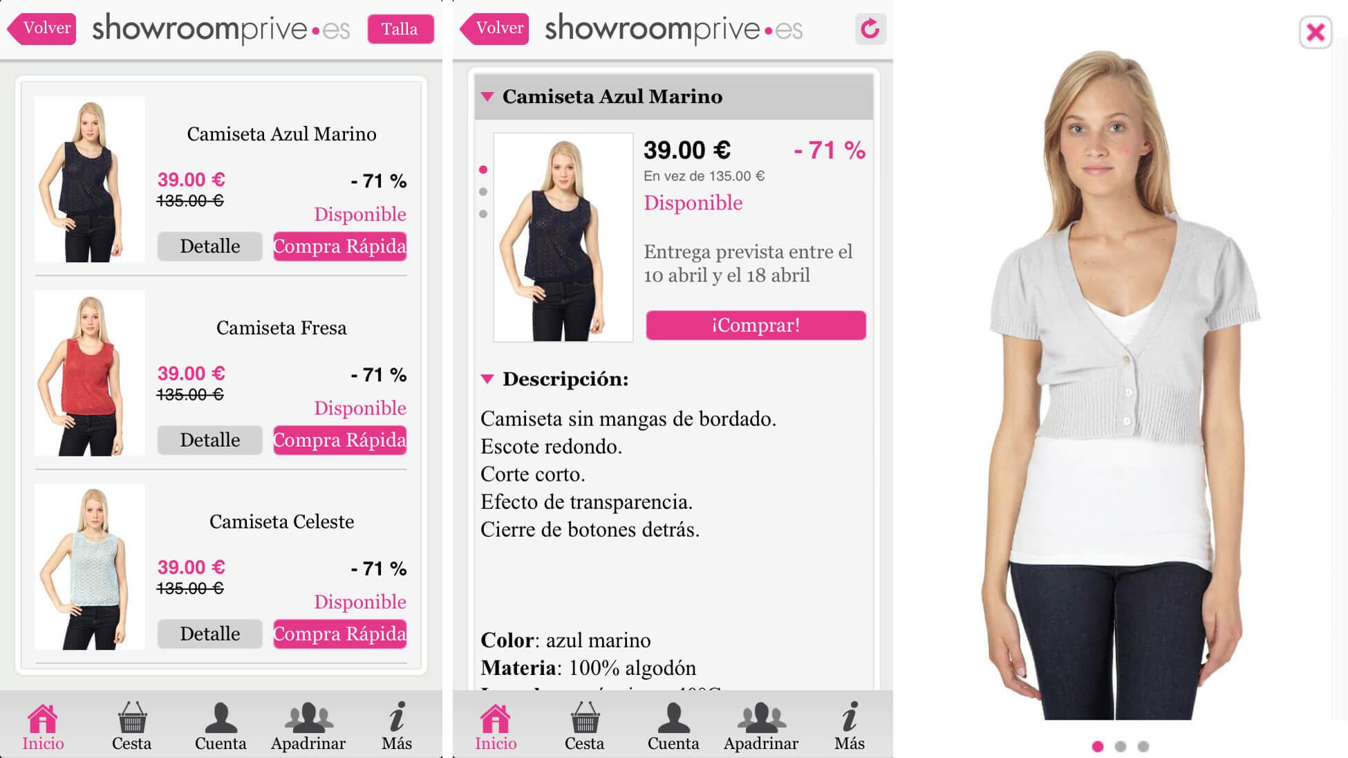 Showroomprivé, mi experiencia de compra