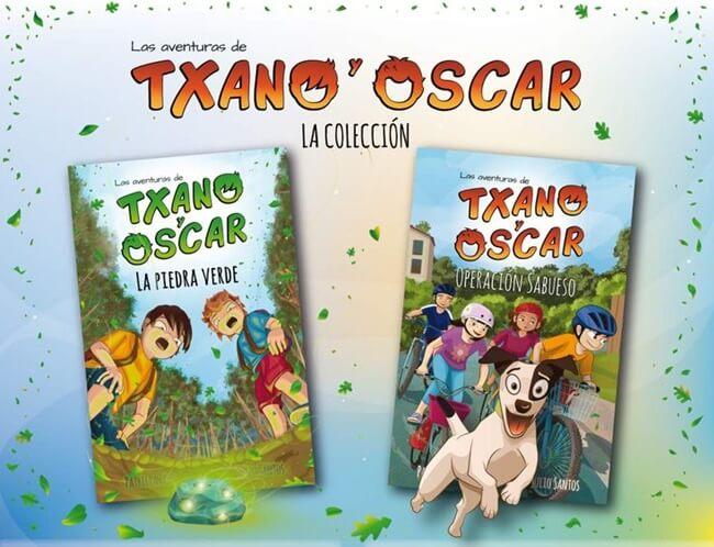 Regala Libros Gratis a tus hijos de Las Aventuras de Txano y Oscar 2