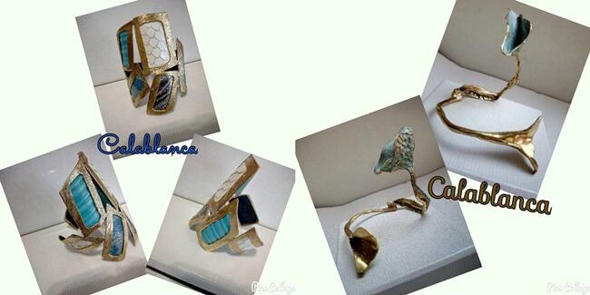Complementos Artesanos Calablanca, joyas únicas y personales