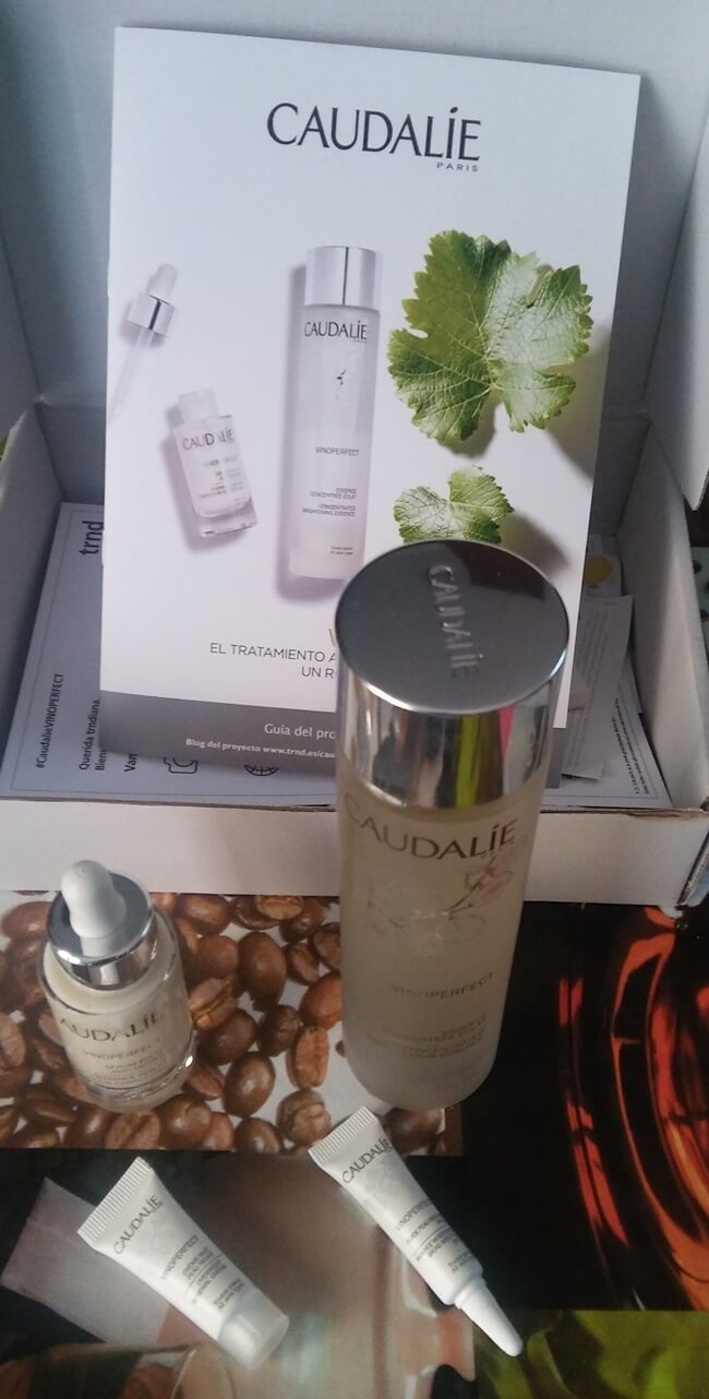 Review de la gama Vinoperfect de Caudalie