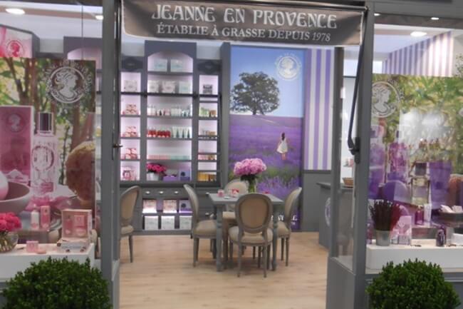 Estuches de Navidad especiales de Jeanne en Provence