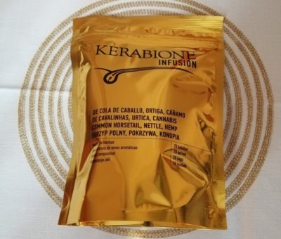 Cuida el cabello y las uñas con la Infusión Kerabione