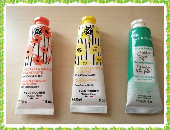 Review de Mascarillas Yves Rocher