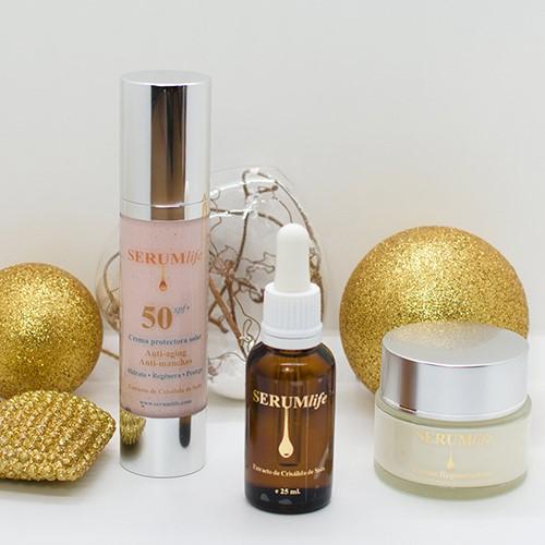 SERUMlife presenta una gama completa de 5 productos y 4 packs para regalar estas navidades
